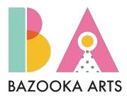 Bazooka Arts logo.