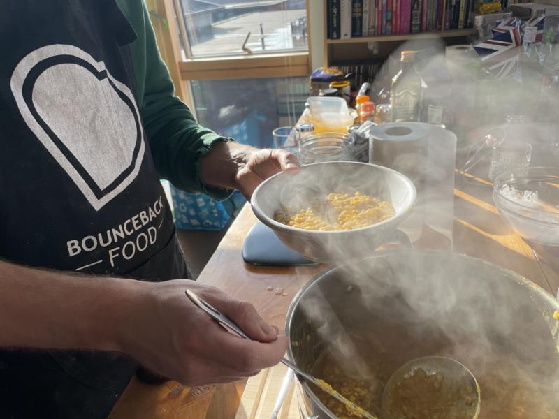 Bounceback Food CIC - Community Meal Drive