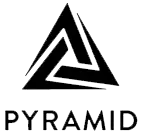 Pyramid of Arts logo which features a triangle.