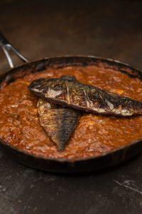 Image of fish curry.